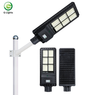 Aluminum ip65 all-in-one 180w solar street light