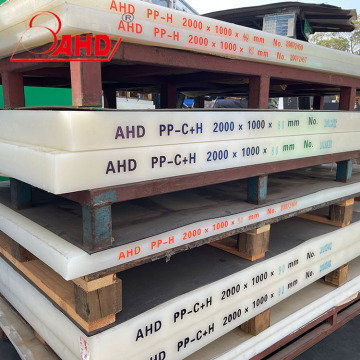 White Natural Solid Polypropylene PP Sheets