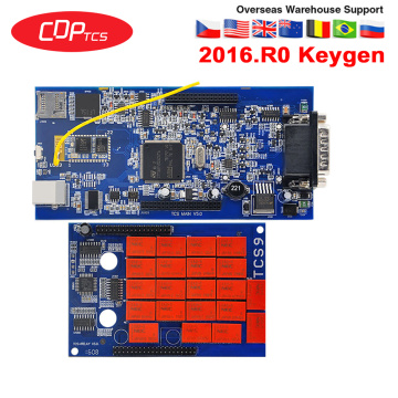CDP TCS plus 2016.R0 keygen software same as MVD multidiag Pro for cars/Trucks OBDII OBD2 auto Diagnostic tool OBD OBD 2 scanner