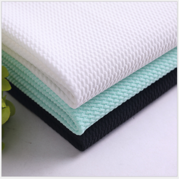 Bubble Twill Knitted Jacquard Healthy Thicker Fabrics