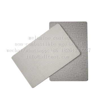 GradeA non-combustible melamine coated decorative mgo panels
