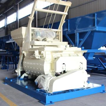 Large capacity JS concrete mixer in Saudi arabia