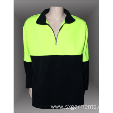 100% polyester men's polar fleece