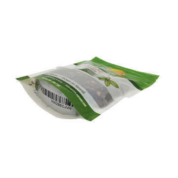 100% Compostable Herbal Tea Barrier Flat Bottom Bag