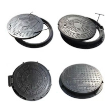 800*800mm SMC FRP Manhole Cover With Pull Rings