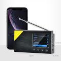 Portable Mini Color Sn DAB/DAB+ Digital Radio Receiver Car MP3 Music Player Fm Lightweight Home Radio Rechargeable Digital Radio