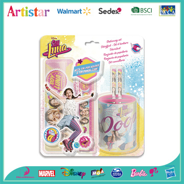 Soy Luna pen holder&pencil case blister card