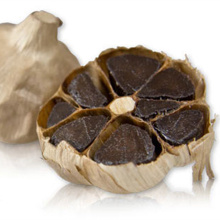 The Peeled Black Garlics Containing Fructose