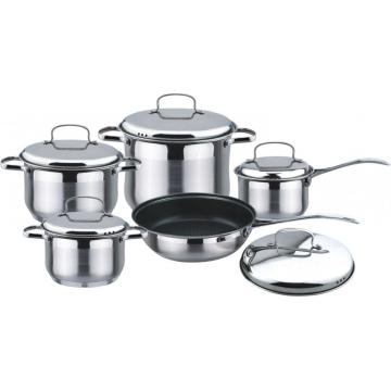 10pcs wire handle cookware set