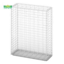Welded gabion stone cage