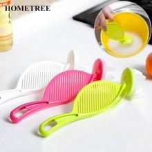 HOMETREE Kitchen Accessories Clean Rice Silicone Soft Head Wash Sieve Beans Kitchen Gadgets Cleaning Kitchenware Goods H370