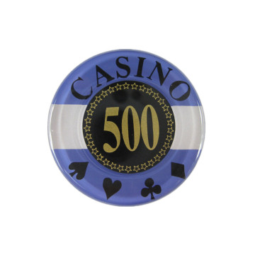 Custom Professional Acrylic Poker Chips