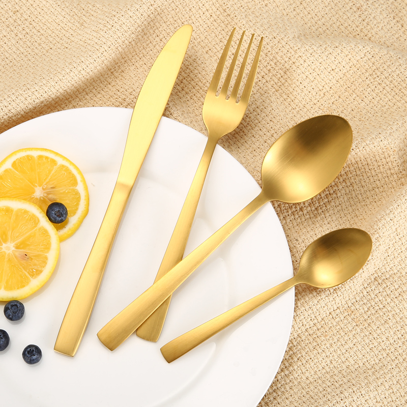 18/0 Matte Stainless Steel Cutlery