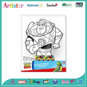 DISNEY&PIXAR TOY STORY colouring set
