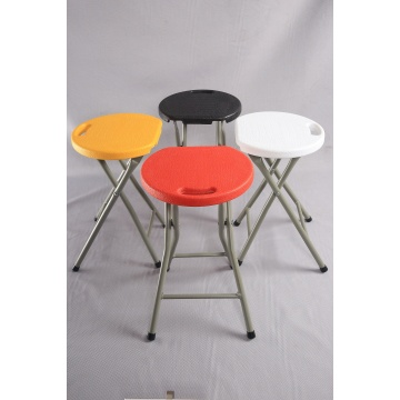 Metals Outdoor Plastic Folding Stool Durable