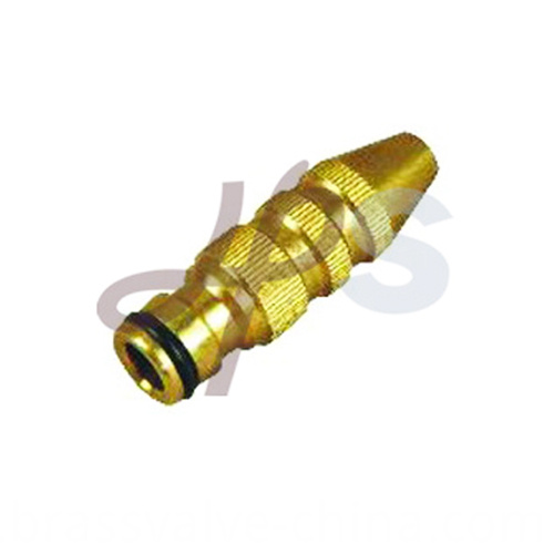 Brass Garden Hose Power Nozzle H725