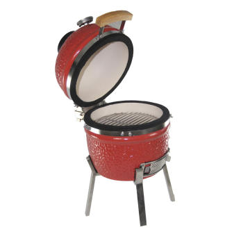 13inch classic red ceramic oven with SS cart