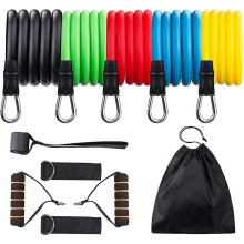 11 Pcs Exercise Resistance Band Set