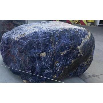 Semi precious big super blue sodalite block