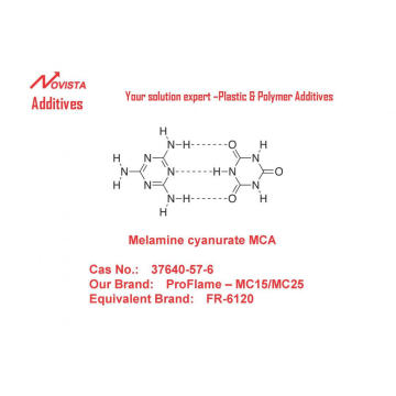 MCA melamine cyanurate for PA6 PA66