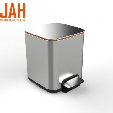 JAH Stainless Steel Pedal Bin with Soft Close