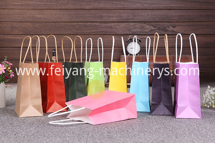 colorful paper bag kraft 2