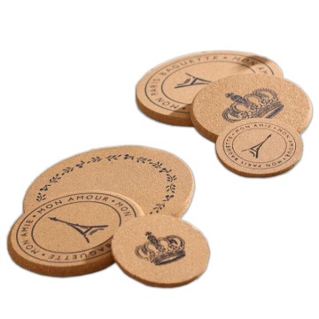 Durable Waterproof Natural Cork Leather for Cup Mat
