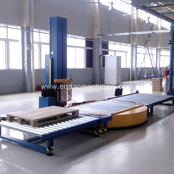 Automatic Pallet Stretch Wrap Machine Packaging Solution