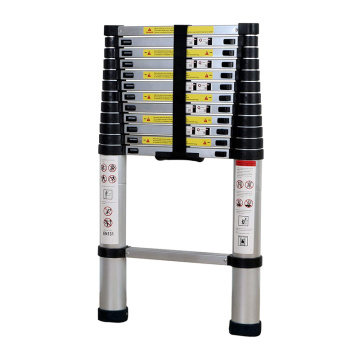 2.6m Aluminium telescopic ladder with CE/ EN131