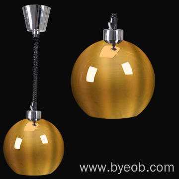 Spring Wire Gold Color OEM Ball Heat Lamp