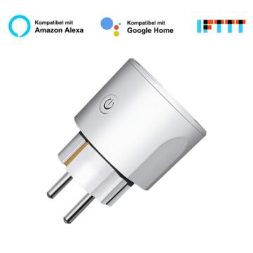 1/4PCS Tuya WiFi Smart Plug Adaptor Wireless Remote Voice Control Power Energy Monitor Outlet Timer Socket For Alexa Google Home