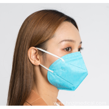Blue Color Disposable 5Ply Filtering Face Mask