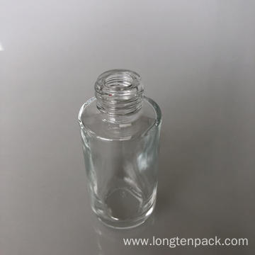 35ml column glass bottle with radius