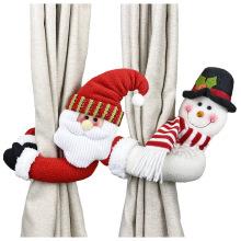 New Christmas Cartoon Doll Curtain Buckle Window Decoration Christmas Gift Home Decors curtain tieback Accessories Holders