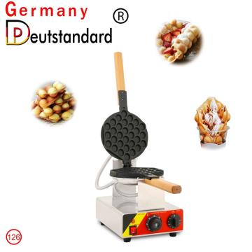 Bubble egg waffle machine commercial snack equipment