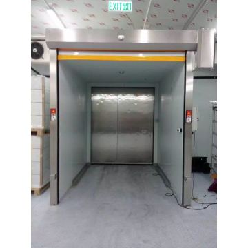 CE approved chilled storage high speed roller shutter
