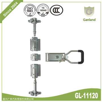 Van Door Gear with Security Key Handle Lock