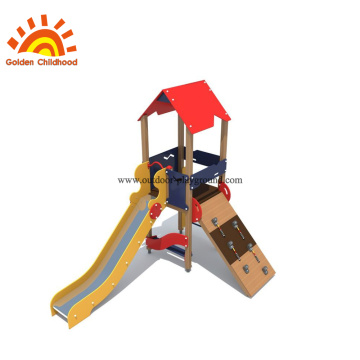 HPL Climbing Panel Slide Structure For Kids