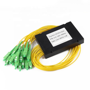1x8 PLC ABS Box Fiber Splitter