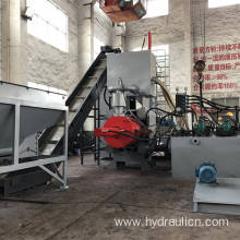 Horizontal Scrap Metal Steel Briquetting Making Machines