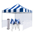 Colorful Stripes 10x10ft Store Tent Outdoor Display Tent