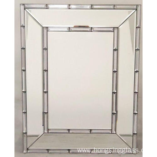 Rectangular Hanging Mirror MDF Board for Any Place