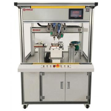 Multi-head rotary dispensing machine