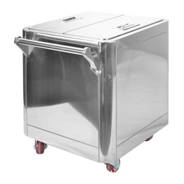 Commercial Stainless Steel Flour Cart
