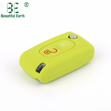 Silicone Peugeot 407 Key Cover for Car