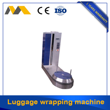 110V power supply luggage wrapper machine exported to US market
