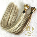 Custom Russian hand tied weft hair extensions