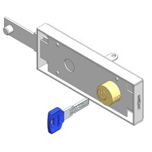 Up and Over Garage Door Lock Computer Key