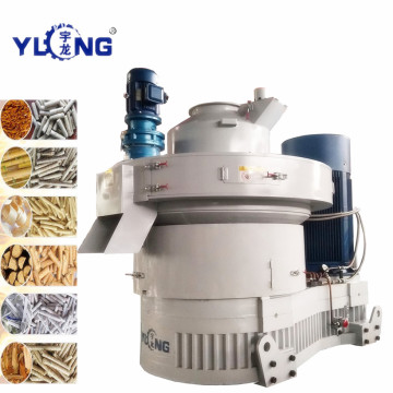 straw and grass meal granulator YULONG XGJ850