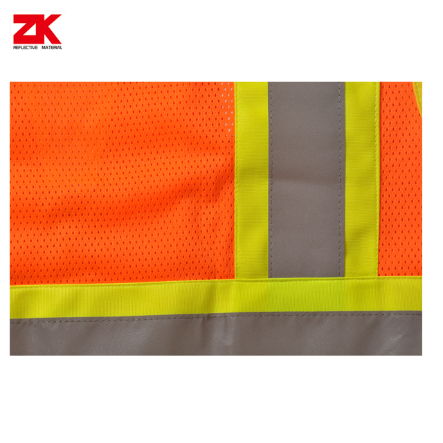 100% Polyester reflective safety vest near me